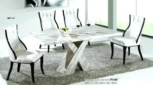 marble top dining room tables marble top dining room modern round