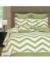 Amazing Deals on Lime green comforter sets & International Light Lime Zigzag 8-piece Comforter Set (ZigZag Queen Light  Lime 8 Pc Adamdwight.com