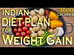 Indian Diet Chart Pdf Indian Diet Plan For Weight Gain 3000 Calories Dietburrp
