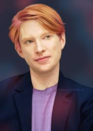 This is a video of domhnall geeson, he is yelling. Domhnall Gleeson Saltandlimes