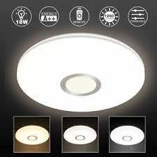 Mit modernen smart home installationen lassen sich beide welten spielend leicht vereinen. Led Dimmbar Deckenlampe Deckenleuchte Effekt Lampe Wohnzimmer Rund Ebay