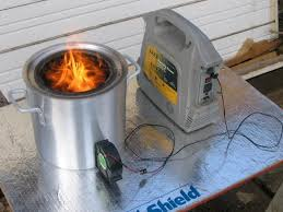 picture of large portable wood gasifier stove
