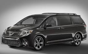 2018 honda odyssey black. simple black 2018 toyota sienna frontquarter view exterior manufacturer  gallery_worthy with honda odyssey black l