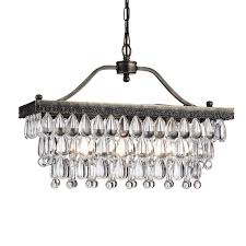crystal glass drop 3 light antique copper chandelier free pertaining to stylish residence glass drop chandelier remodel