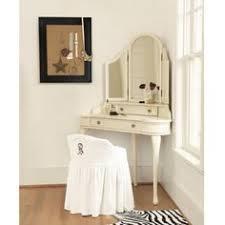 Corner vanity makeup table for bedroom