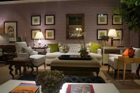 furniture furniture store showing white sofa and green cushions