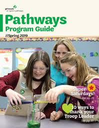 Balloon Car Design Challenge Girl Scouts Pathways Program Guide Spring 2019 By Girl Scouts Of