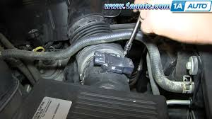how to install replace mass air flow sensor 2009 13 chevy how to install replace mass air flow sensor 2009 13 chevy silverado gmc sierra