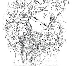Fantasy Coloring Pages For Adults Mycoloring