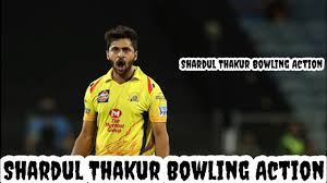 Shardul Thakur Bowling Action In Slow ...