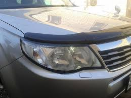 Дефлектор <b>люка</b> и капота + очки — <b>Subaru</b> Forester, 2.0 л., 2009 ...