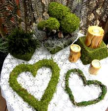 Moss Balls Wedding Decor Inspiration Moss Ballsmoss Covered BallsTopiary Balls