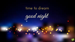 good night time to dream