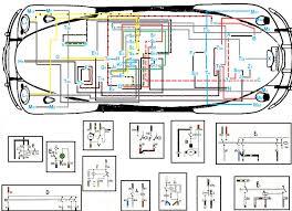 vw beetle wiring diagram with electrical volkswagen wenkm com 1974 vw beetle turn signal wiring diagram vw beetle wiring diagram with electrical