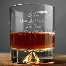monogrammed scotch glasses engraved stern whisky glass crystal whiskey