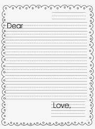 Primary Letter Writing Paper Primary Letter Writing Paper Printable Lined Paper With