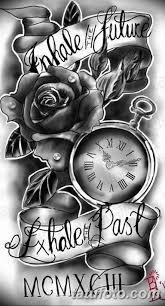 тату эскизы часы на руке мужские 09032019 002 Tattoo Sketches