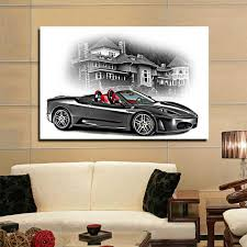 2018 cool car printing decoration metal car wall decor from artpainting19 13 61 dhgate com