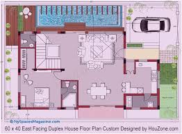 30 40 duplex house plans with car parking east facing inspirational