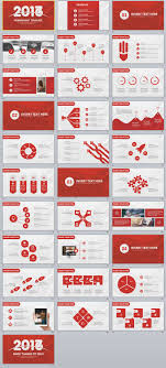 31 Red 2017 Business Design Powerpoint Templates The Highest