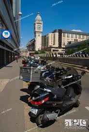 parked mopeds scooterotorbikes