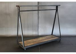 I need to date someone who can make me this metal and wood garment rack