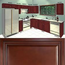 Kitchen Furniture Catalog Lesscare Cherryville 10x10 Kitchen Cabinets Group Sale