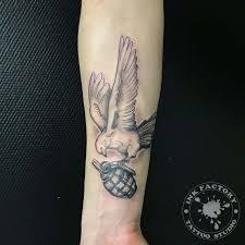 тату в стиле Neo Traditional сделаные в Inkfactory