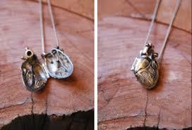 pendant heart shaped locket
