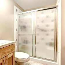 how to clean glass shower doors hard water stains off with dryer sheets naturally