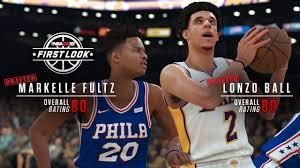 개선된 비주얼과 선수 ai, 게임 모드 등을 통해 nba 2k21은 가장 실감 나고 현실적인 농구 비디오 게임의 기준을 넓혀 나갑니다. Nba 2k18 Screenshot Lonzo Ball Overall 80 Operation Sports