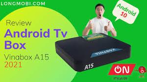 Vinabox A15 Chip H313 Ram 2GB Android 10 Có Truyền Hình Bản Quyền