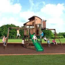 monterey cedar swing play set backyard sets new luxury outdoor