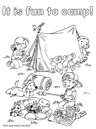 Free Coloring And Reading Page Summer