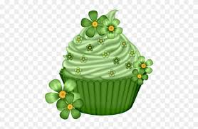Tube St Patrick Happy Birthday Cupcake Clipart Free Transparent