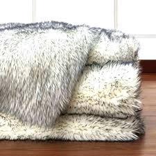 fake fur rug animal hide rugs