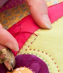 Beginner's guide to hand quilting by Sarah Fielke | broderie ... & Beginner's guide to hand quilting by Sarah Fielke | broderie | Pinterest |  Hand quilting, Hand sewn and Tutorials Adamdwight.com