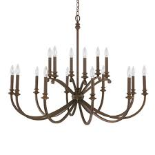 capital lighting alexander 16 light candle chandelier