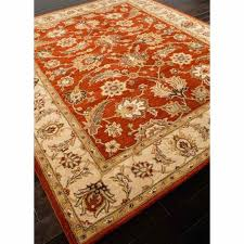 wool area rugs 10x14 rugs hand tufted oriental pattern wool red taupe area rug furniture