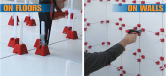 tile professionals choose tuscan leveling system tuscan leveling wall