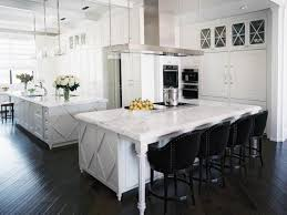 White And Gray Kitchen Black Kitchen Cabinets Pictures Ideas Tips From Hgtv Hgtv