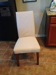 sure fit cotton duck shorty dining room chair cover