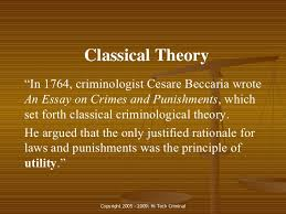 exploring crime 11 classical theory ldquo