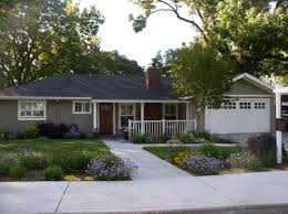 Ranch House Curb Appeal Beautiful Exterior Ranch House Curb Appeal Decoration With Gray