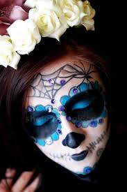 sugar skull makeup tutorial mexican for special day of the dead