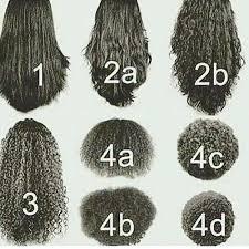 Natural Hair Curl Type Chart Www Bedowntowndaytona Com