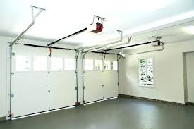 low clearance garage door how much to install garage door opener install garage door opener low