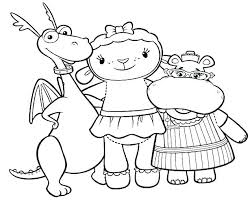 Collection Of Doc Mcstuffins Printable Coloring Pages 35 Images In
