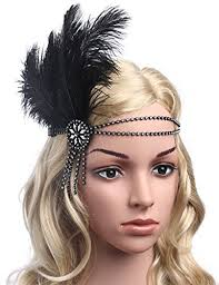 Gatsby Hairstyles 100 Awesome BABEYOND 24s Flapper Headband 24s Great Gatsby Headpiece Black