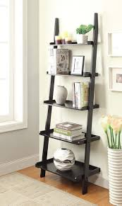 ladder desk with shelves 81zd8s7e8jl sl1500 com convenience concepts american heritage bookshelf style ladder desk